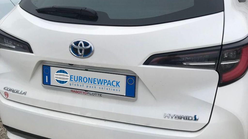 Ecosostenibilità: arriva la prima auto ibrida della flotta Euronewpack